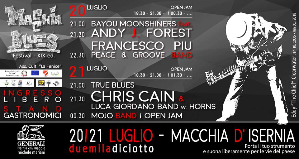 Macchia Blues Festival XVII edizione - 2018
